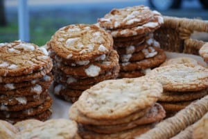 Freshly baked ginger, molasses and chocolate chip cookies are Pennington Farm favorites!