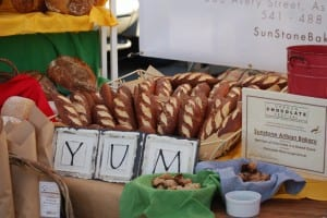 """Yum"" sums it up for the artisan bread offered by Sunstone Bakery!"