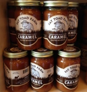 Fat Toad Farm Perfects the Caramel Sauce