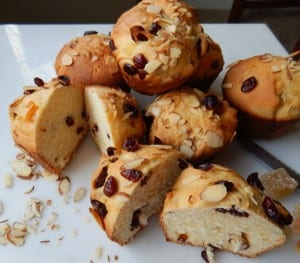Cranberry Ginger Panettone