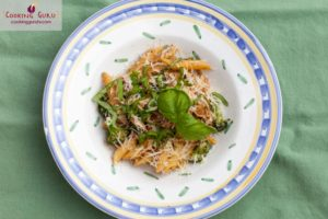 Goat Cheese and Sun-Dried Tomato Penne
