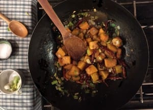 Dunbar Farms Recipe for Winter Squash Stir Fry