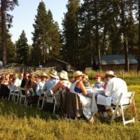 Farm Dinner in the Field. Image courtesy The Local Dish