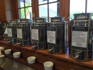 Tasting Olive Oil At Oregon Olive Mill