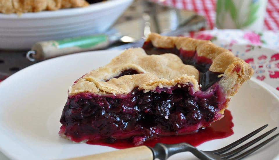Blueberry Pie. Image: Willamette Valley Pie Company