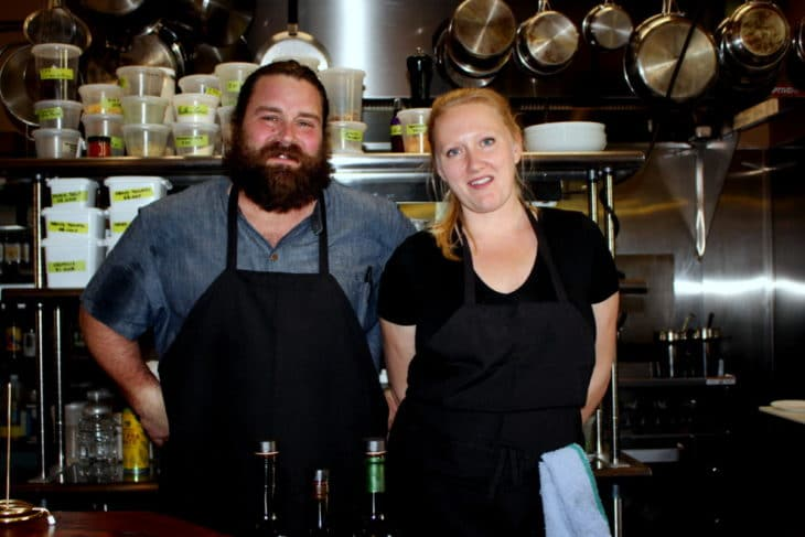 Lorella Restaurant co-owners, Tony Travanty and Petra Jung