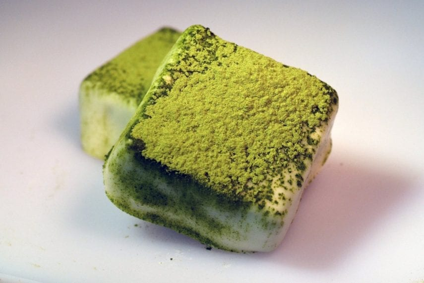 Branson's Chocolates Matcha Green Tea Squares