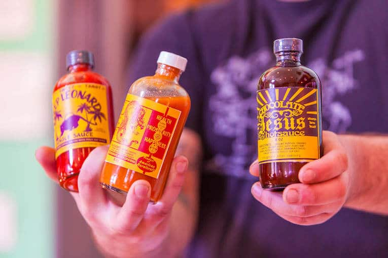Gil's Taphouse Rubys Hot Sauces