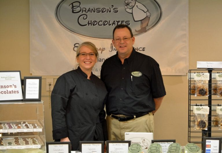 Branson\\\\\\\\\\\\\\\'s Chocolates owners, Kevin and Deena Branson