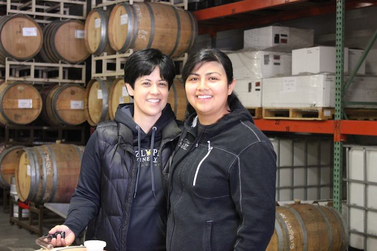 Grizzly Peak Winery, Naomi and Sarah