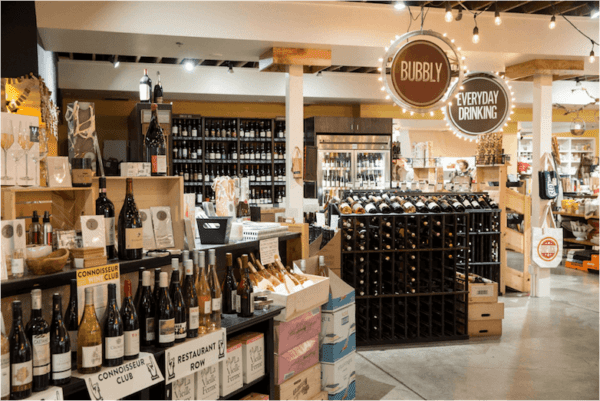 Provisions Market Hall Wine Shop