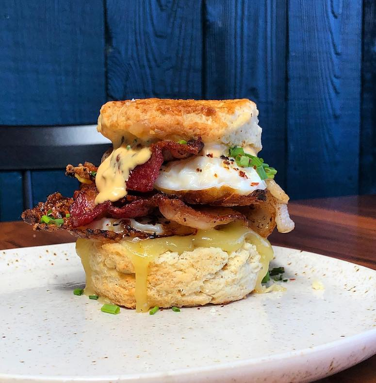photo of Hither breakfast biscuit