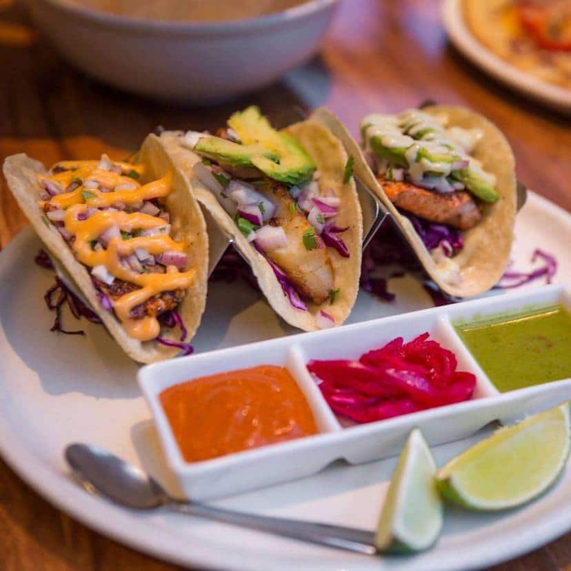standing stone brewery tacos