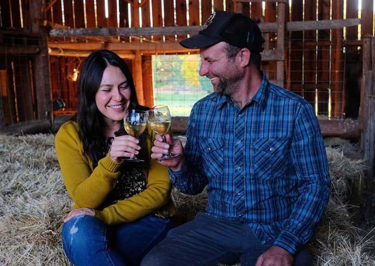 Blossom Barn Cidery Owners Jeremy and Erin 2 1