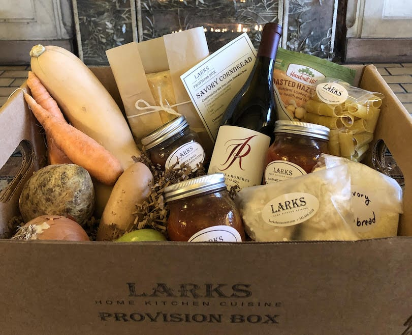 larks image of box of food