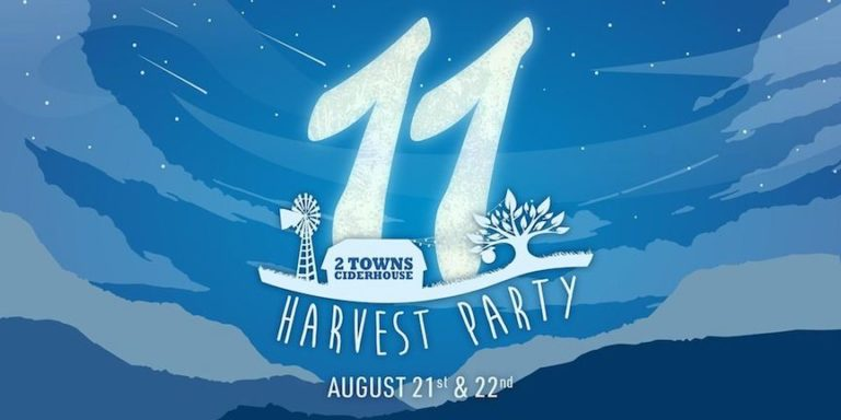 2 Towns Ciderhouse Harvest Party 2021 768x384