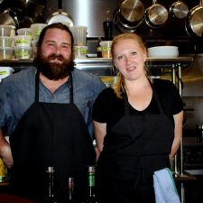 Tony Travanty and Petra Jung, chef co-owners, Scarpetta, Image: Renee Olmsted Photography
