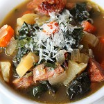 Sausage and Swiss Chard Soup