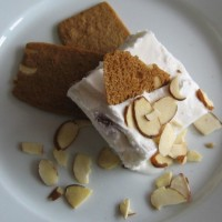 Almond Semifreddo With Black Truffles